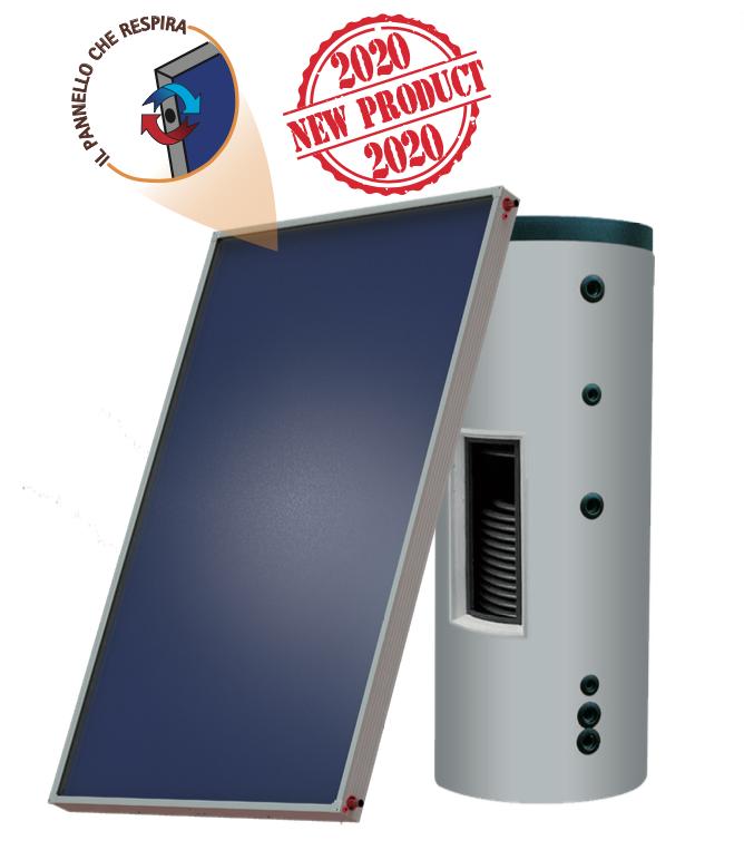 Sistema solare circolazione forzata Sunwood Ideal Big Plus Piano F